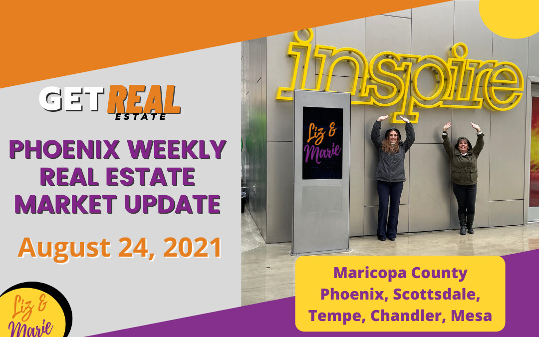 Phoenix is the 4th largest iBuyer area in the country Get Real Estate with Liz & Marie