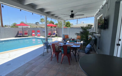 Scottsdale Family Entertainment, Pool, Bocce ball & Golf – Putting Green